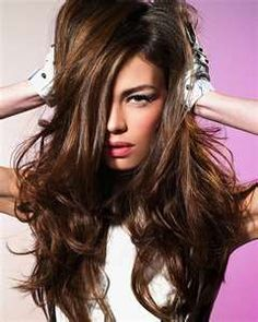 Highlight idea Brown Hair Color 2012