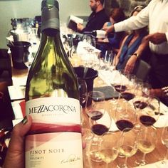 Fan photo of the day! Instagram user mariearoy enjoyed a Mezzacorona wine tasting in Montréal! Great inspiration for this #WineWednesday!