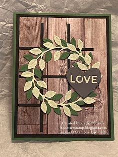 Fall Cards, Christmas Cards, Scrapbook Cards, Scrapbooking, Fall Plaid, Valentine Greeting Cards, Stamping Up Cards, Valentine Wreath, Paper Pumpkin