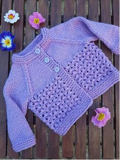 FREE - KNIT - Free knitting and crochet patterns. I am a popular independent designer. ~ comes in 3 sizes: medium PREEMIE, newborn and mos. Baby Knitting Free, Baby Cardigan Knitting Pattern Free, Baby Sweater Patterns, Knitted Baby Cardigan, Knit Baby Sweaters, Knitted Baby Clothes, Baby Patterns, Crochet Patterns, Cardigan Pattern