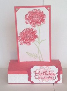 Free Standing Pop-up card Fancy Fold Cards, Folded Cards, Squash Card, Bridge Card, Waterfall Cards, Exploding Box Card, Slider Cards, Easel Cards, Pop Up Cards