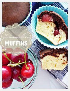 Donauwellen-Muffins - Genusskochen