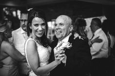 Father daughter dance at Friern Manor Essex Wedding by Anesta Broad Photography