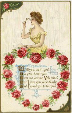 Love me, darling Valentine.