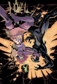 Joker's Daughter vs Catwoman - Terry Dodson
