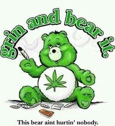 Weed Care Bear
