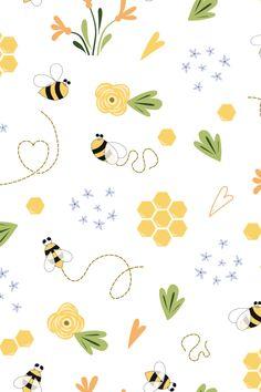 Frühling Wallpaper, Iphone Background Wallpaper, Pastel Wallpaper, Aesthetic Iphone Wallpaper, Cartoon Wallpaper, Aesthetic Wallpapers, Cute Wallpaper Backgrounds, Pretty Wallpapers, Cute Flower Wallpapers