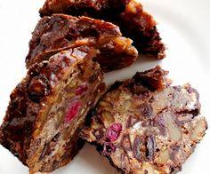 Festive Chocolate Cranberry Bishop's Bread