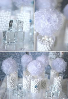 frozen disney party ideas | Trend Alert: Frozen Party {Sweets Table} // Hostess with the Mostess®