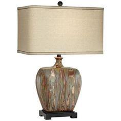 Julius Copper Drip Ceramic Table Lamp