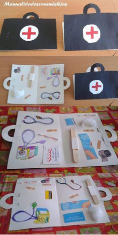 doctor bag craft                                                                                                                                                                                 Más
