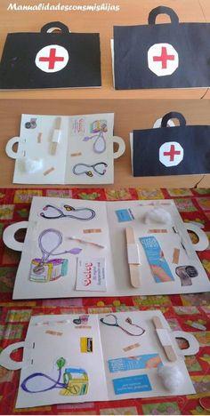 doctor bag craft                                                                                                                                                                                 Más