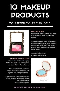 10 Makeup Products you must try in 2016  part 1 of 4