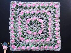 New Video Tutorial for the Crochet Flower Field Block. ~Dearest Debi Patterns