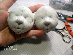 Создание объемной текстильной кукольной головки. Часть вторая - Ярмарка Мастеров - ручная работа, handmade