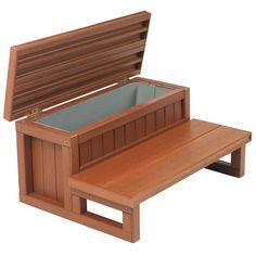"30"" Storage Step for hot tub spa stuff. …"