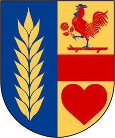 Coat of arms of Näshulta landskommun, now part of Eskilstuna Municipality, Sweden