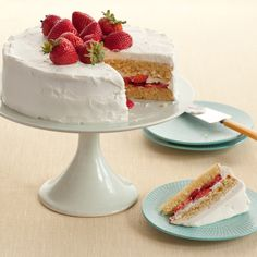 Diner-Style Strawberry Shortcake from Food Network
