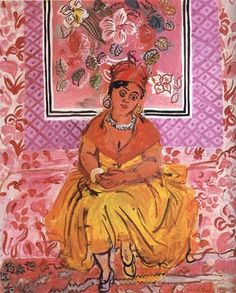 Woman from Martinique  -   Raoul Dufy 1931French 1877-1953