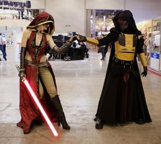 Revan and Lady-Sith by DarielZerenski