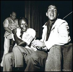 Dean Martin and Nat King Cole