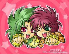 Shion y Dohko...el duo dinamico!
