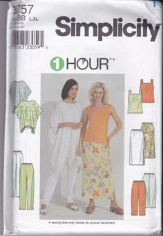 Shop for everything but the ordinary. More than sellers offering you a vibrant collection of fashion, collectibles, home decor, and more. Tunic Sewing Patterns, Plus Size Sewing Patterns, Vintage Sewing Patterns, Clothing Patterns, Sewing Ideas, Sewing Paterns, Sewing Hacks, Dress Patterns, Sewing Projects