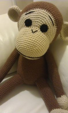 I love this Big Monkey - crochet