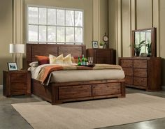 Alpine Pierre 6 Drawer Dresser. Fully Assembled Side Mounted Ball Bearing Metal Glides Wire Brush Finish  Antique Cappuccino Acacia Solids & Acacia Veneer