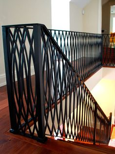 Modern decorative railing