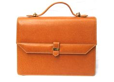 Courrèges Leather Women's Bag Briefcase by ShopCuratedGoods, $375.00
