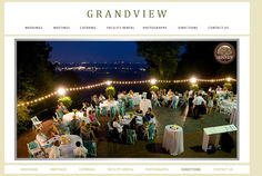 THE GRANDVIEW - Chattanooga wedding venue. Alex and I will probably get married here! (: