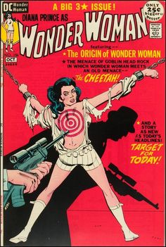 Wonder Woman #196, October 1971. Cover by Dick Giordano and Mike Sekowsky