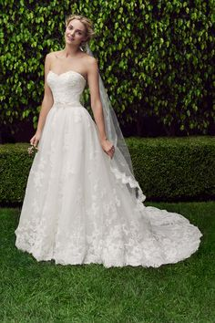 Wedding gown by Casablanca