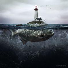 """Lighthouse Island"" | Manuel Rodríguez Sánchez"