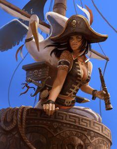 Pirate Blade master, here to slice and dice! www.bobkehl.com www.facebook.com/bobkehlart twitter.com/bobkehl