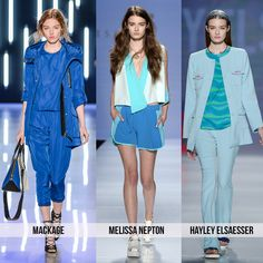 Ocean blue - Top 10 Trends from Toronto Fashion Week for Spring 2015 | 29secrets