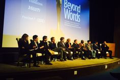 Andrea Berloff, moderator of a panel discussion with ten of this year's WGA Award nominated screenwriters – only one of whom is female.
