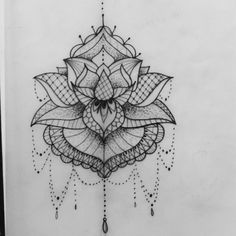 Lotus Mandala Tattoo                                                       …