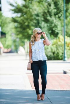 Summer outfit inspiration - Classic & Casual Style - the southern style guide x draper james