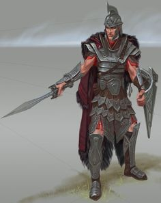 The Elder Scrolls V: Skyrim Art & Pictures Imperial Armor The Elder Scrolls, Elder Scrolls Games, Elder Scrolls Skyrim, Elder Scrolls Online, Imperial Skyrim, Imperial Legion, Dnd Characters, Fantasy Characters, Paladin