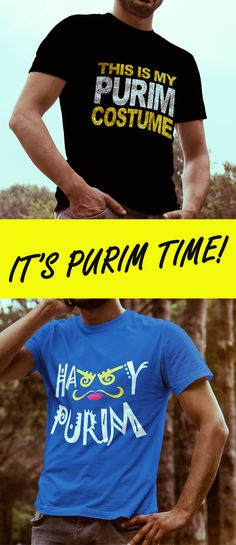 Cool PURIM t shirts!! This is My Purim Costume Funny Jewish Costume T Shirt Wear this t shirt to your purim party to make yourself happy and funny holiday