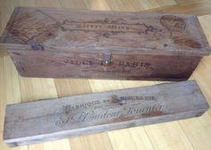 #vintage wooden #boxes