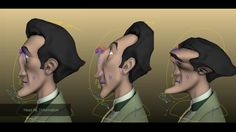 Facial and body rig breakdown -2016-