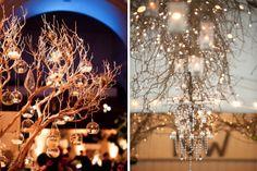 """Decoração com galhos (ou """"árvore francesa"""") ~ Madrinhando"""