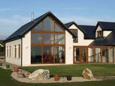 Contemporary bungalow extension | Zwarte kozijnen | Pinterest ...