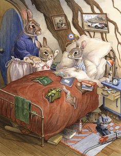 PAISLEY RABBIT AND THE TREEHOUSE CONTEST BY CHRIS DUNN