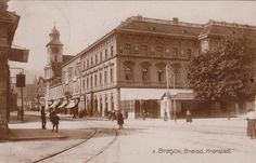 Brasov - Cafeneaua Transilvania - interbelica