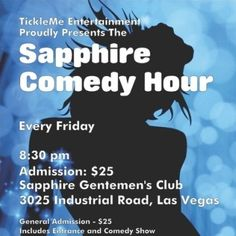 Comedy Hour at Sapphire Las Vegas (Friday) Comedy Tickets, Comedy Show, Las Vegas, Sapphire, Friday, Entertaining