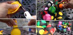 Πώς να φτιάξετε μπαλάκια αντι-στρες ή παιδικά με μπαλόνι και αλεύρι - {ΒΙΝΤΕΟ}